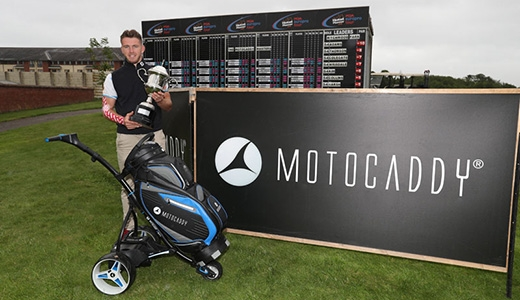 Motocaddy Masters Winner