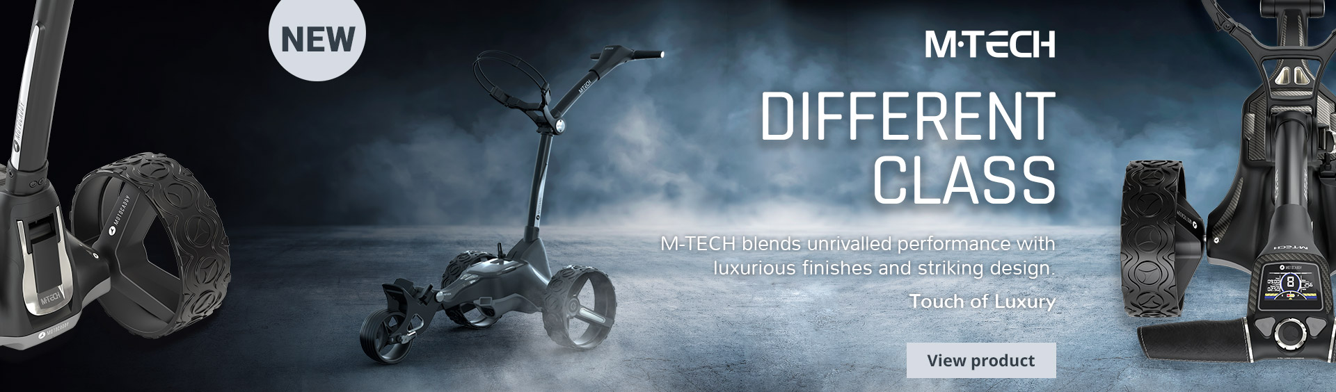 M-TECH Electric Trolley