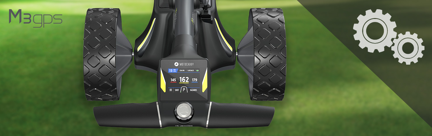 M3 GPS Electric Trolley Support Page